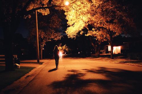 night time walk